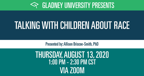 Gladney University - Talking with children about race